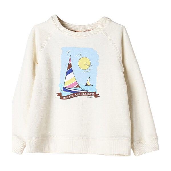 Sailboat Sweatshirt, Yellow