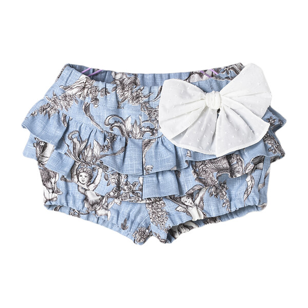 Toile de Jouy Baby Bloomer, Blue