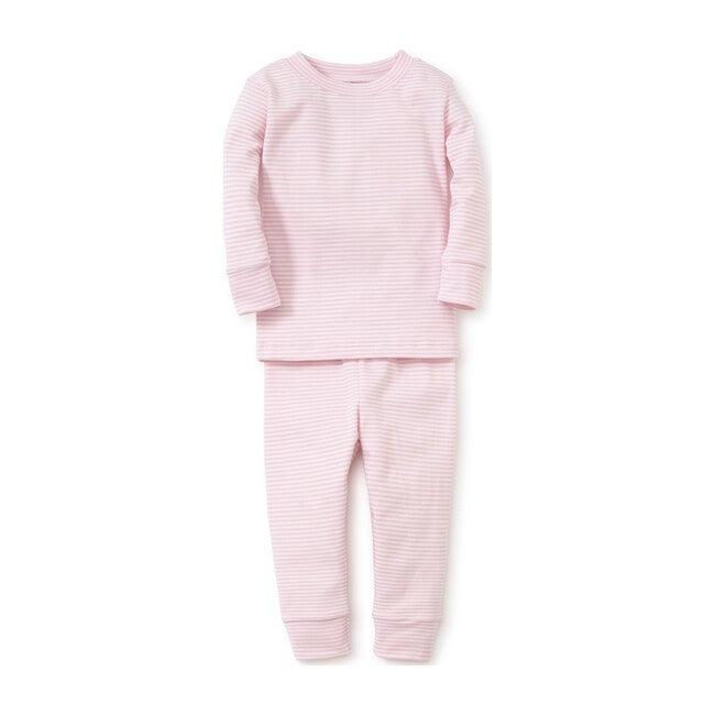 Simple Stripe Pajama Set, Pink