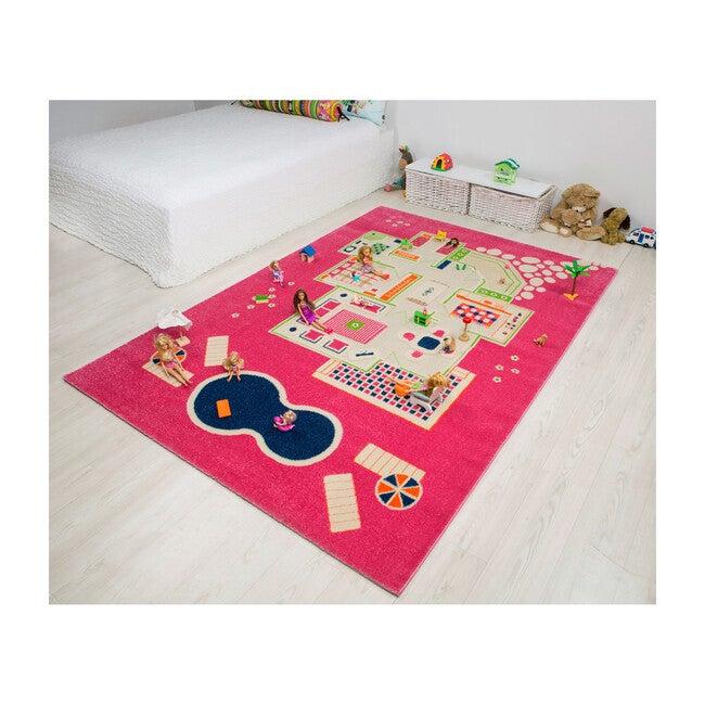 Play House 3-D Activity Mat, Pink XL