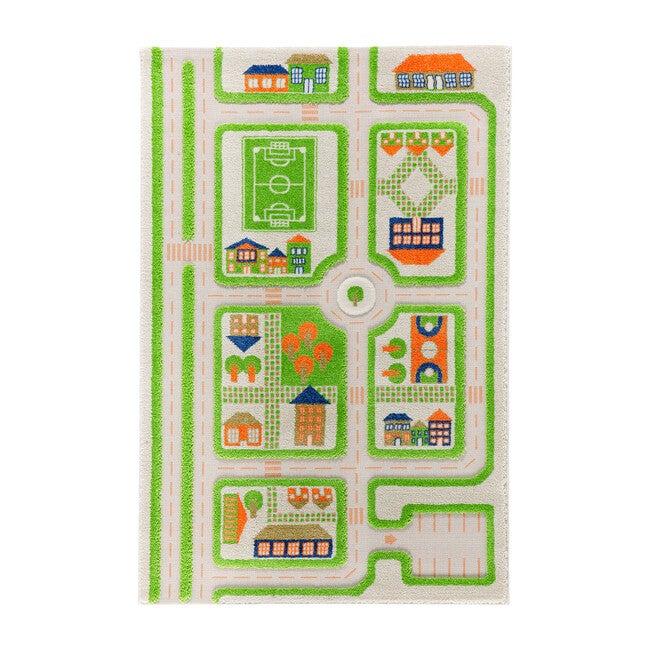 Traffic 3-D Activity Mat, Green Medium