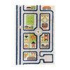 Traffic 3-D Activity Mat, Blue Medium - Transportation - 1 - thumbnail