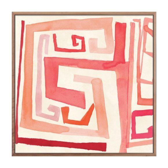 "Rose Maze, 40"" x 40"""