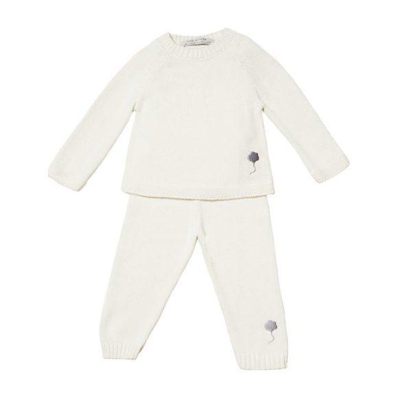 The Neel Travel Suit in Cotton, Cumulus White