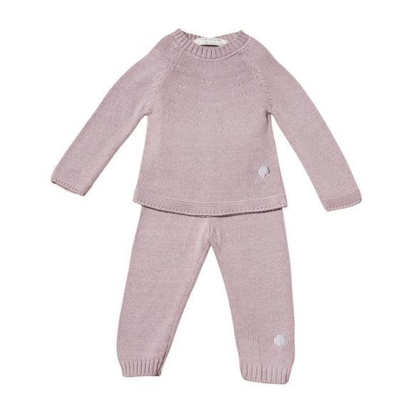 The Neel Travel Suit in Cotton, Cumulus Pink