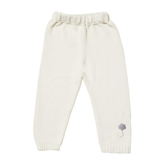 The Neel Pants in Cotton, Cumulus White