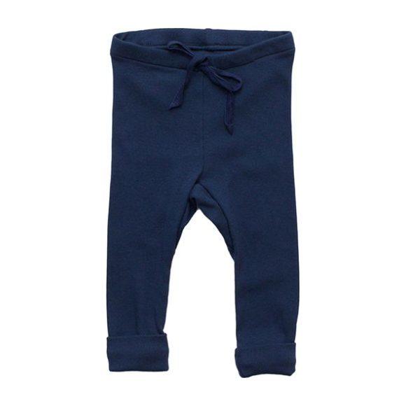 Rib Baby Legging, Navy