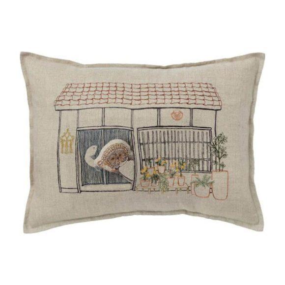 Raccoons Abode Pocket Pillow