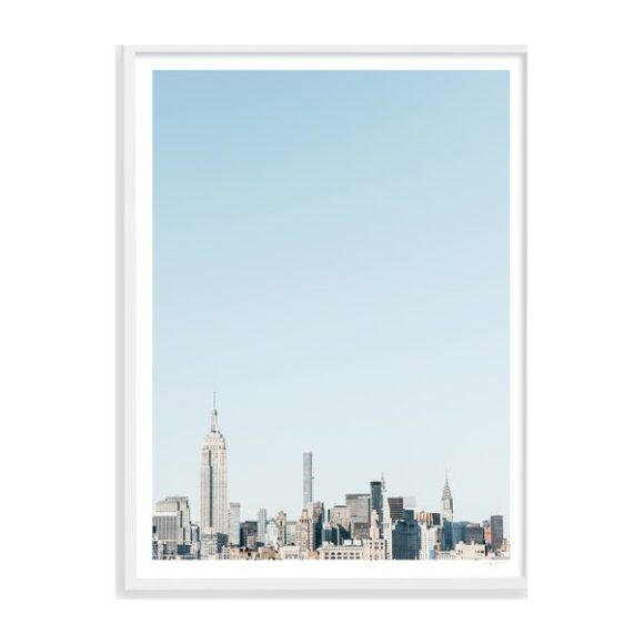 "New York City Skyline, 31"" x 41"""
