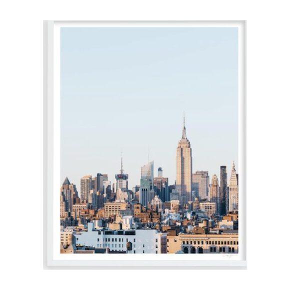 "New York Skyline 4, 25"" x 31"""