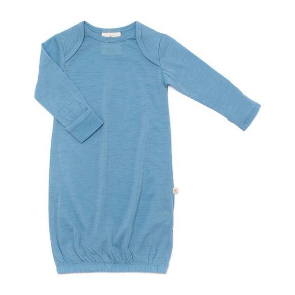 Merino Wool Snuggle Gown, Blue - Sleepbags - 1