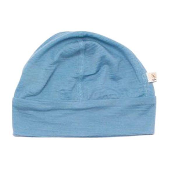 Merino Wool Beanie, Blue
