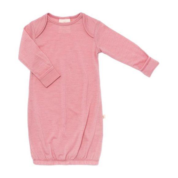 Merino Wool Snuggle Gown, Rose Tan