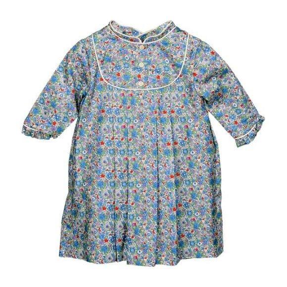Mao Dress, Floral Print