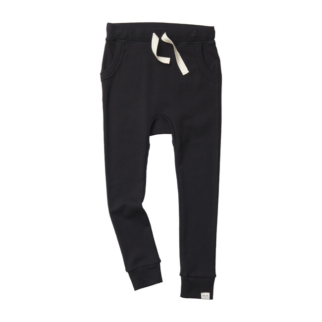 Louie Harem Pant, Black