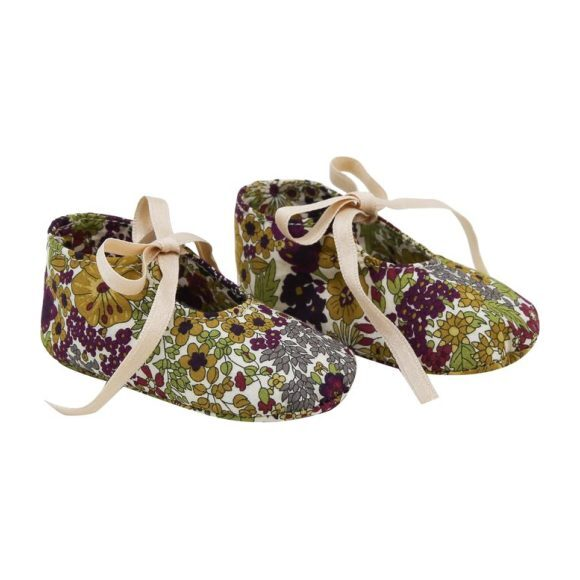 Little Liberty Booties, Lilac