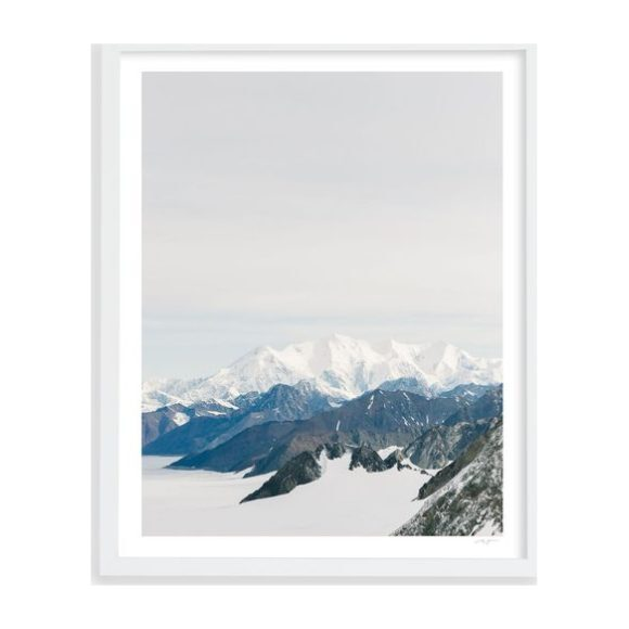 """Layered Peaks Yukon, 17"""" x 20"""" - Art - 1"""