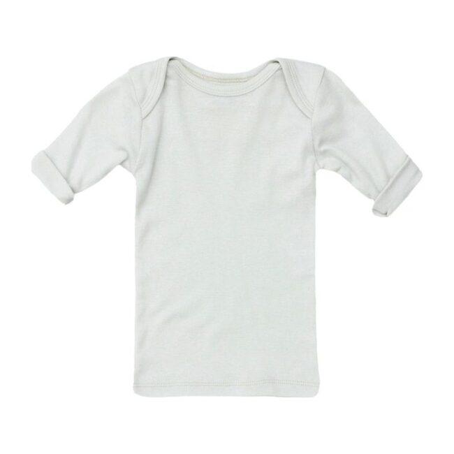 Lap Shoulder Tee Short Sleeve Cloud