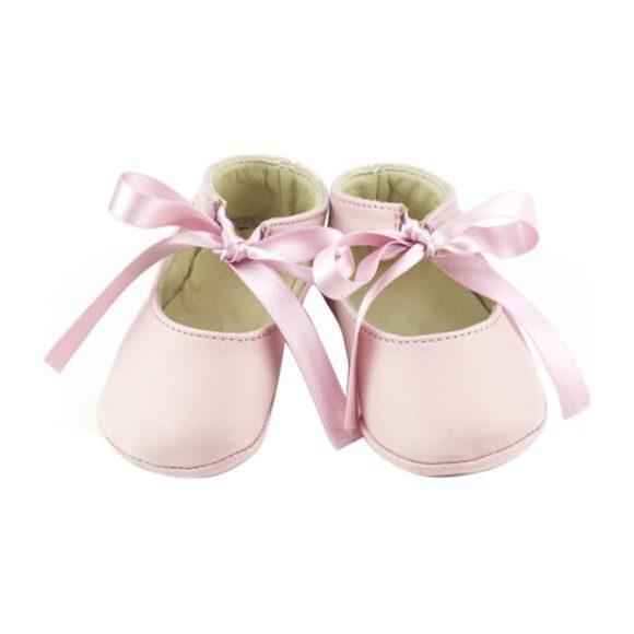 Leather Josephine Booties, Pink