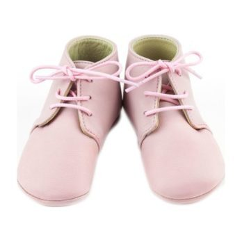 Leather Gaby Boots, Pink