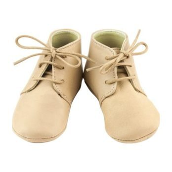Leather Gaby Boots, Beige