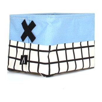 Ole Small Storage Basket, Blue