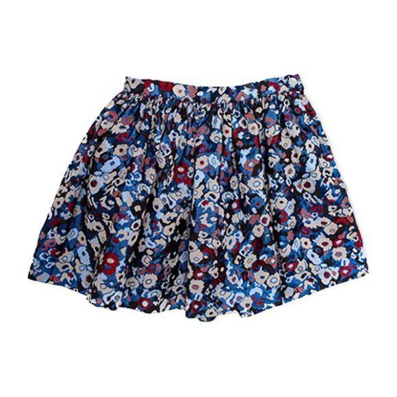 Floral Zara Skirt, Blue