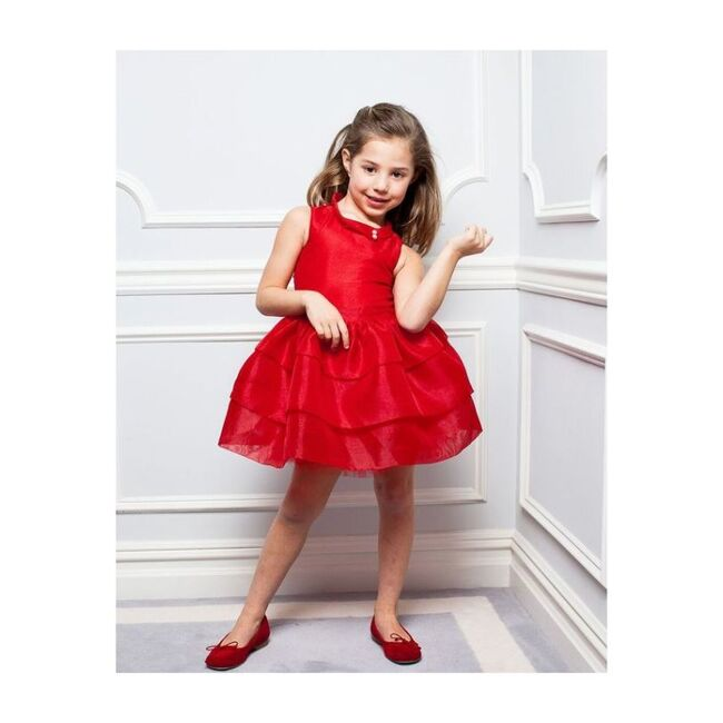 Libby Dress, Red