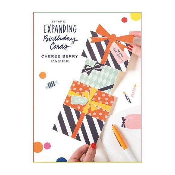 Expanding Birthday Card Set
