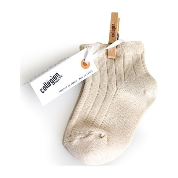 Collegien Ankle Socks, Cream