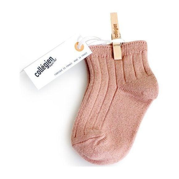 Collegien Ankle Socks, Blush