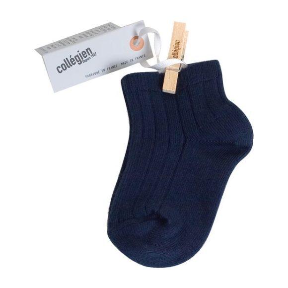 Collegien Ankle Socks, Navy