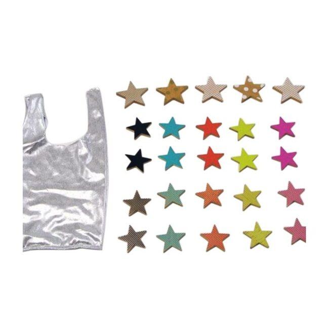 Tanabata Rainbow Cookie Stars