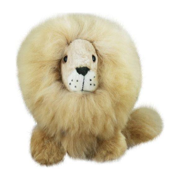 "Alpaca Stuffed Lion, 12"" - Plush - 1"