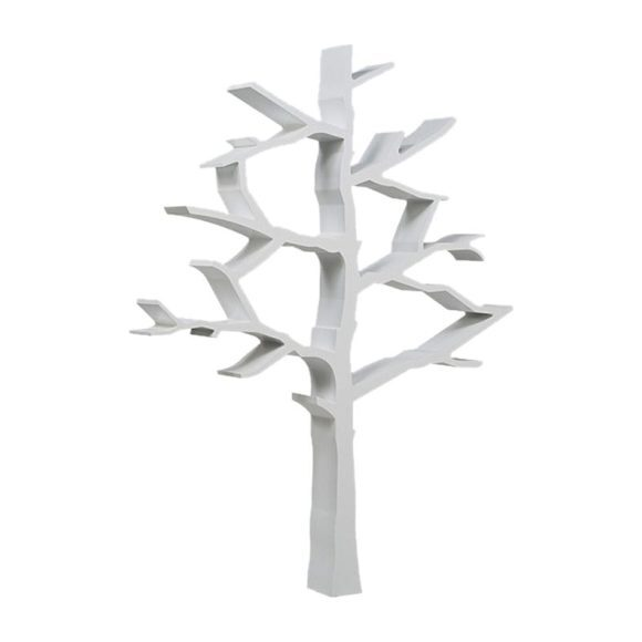 Tree Bookcase, White