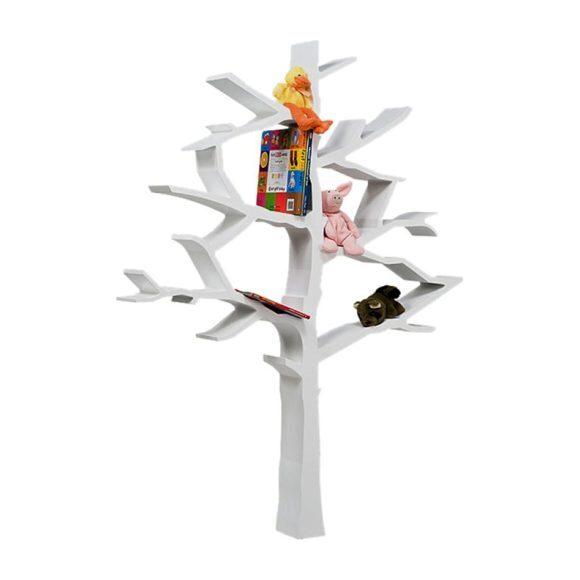 Tree Bookcase, White