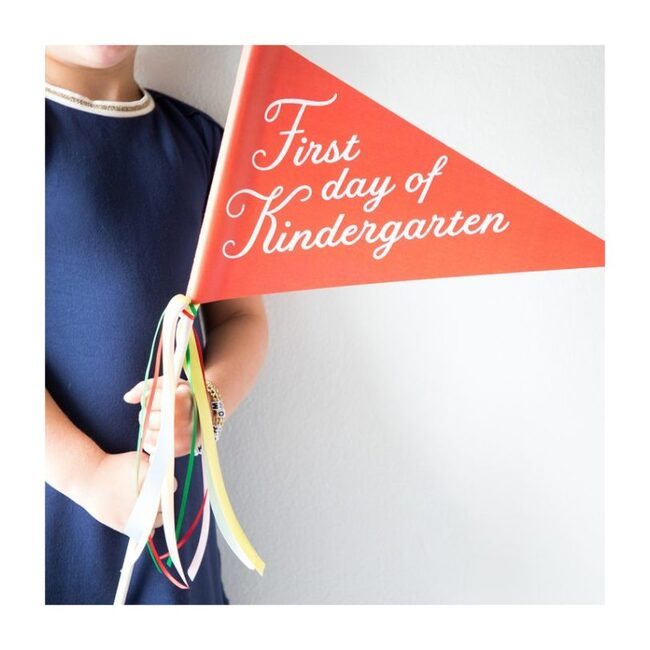 First Day of Kindergarten Banner