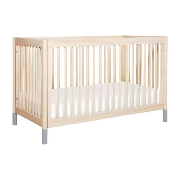 Gelato Crib and Dresser Feet Pack, Grey