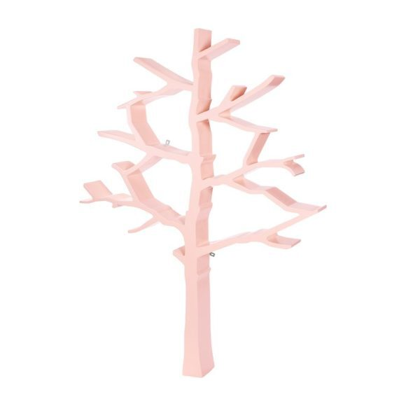Tree Bookcase, Blush Pink