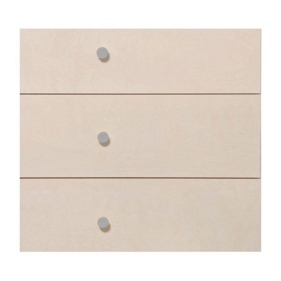 Gelato Dresser Knob Set, Grey