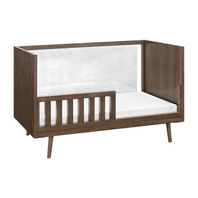 Nifty Clear 3-In-1 Crib, Walnut
