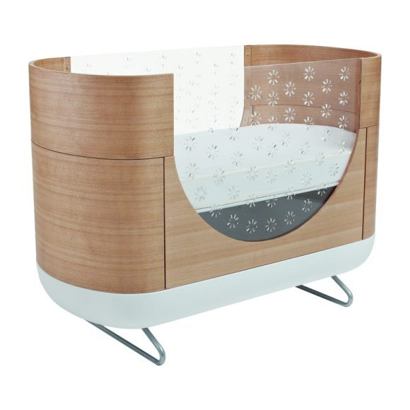 Pod 2-in-1 Convertible Crib with Toddler Bed Conversion Kit