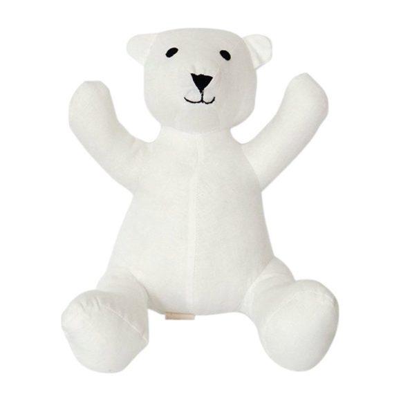 Teddy Bear in Cream Linen