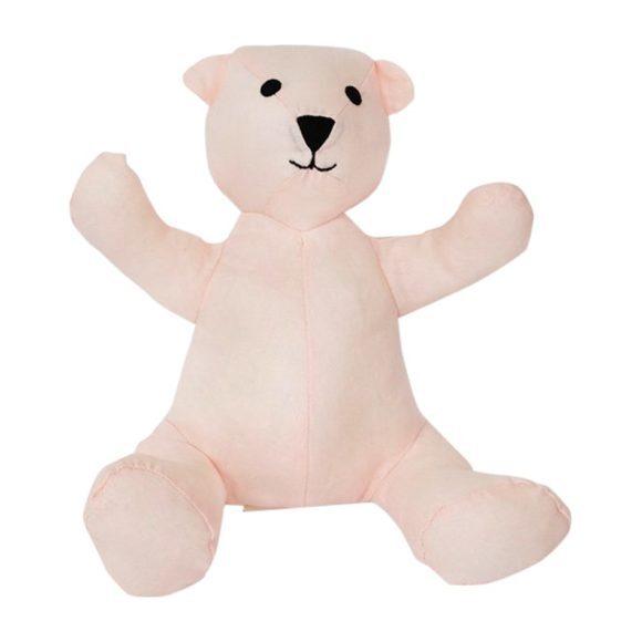 Teddy Bear in Pink Linen