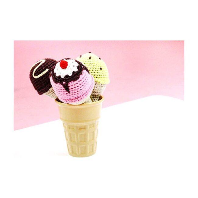 Ice Cream Rattle Set