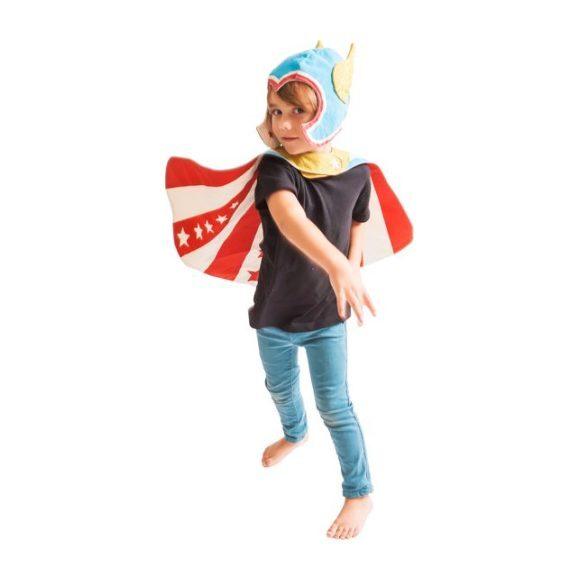 Flying Super Hero Set, Blue