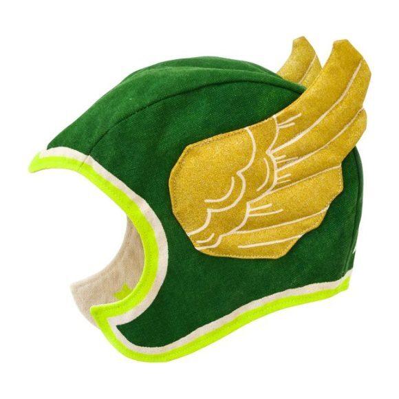 Flying Super Hero Hat, Green
