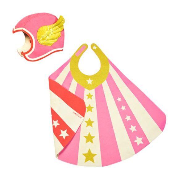 Flying Super Hero Set, Pink