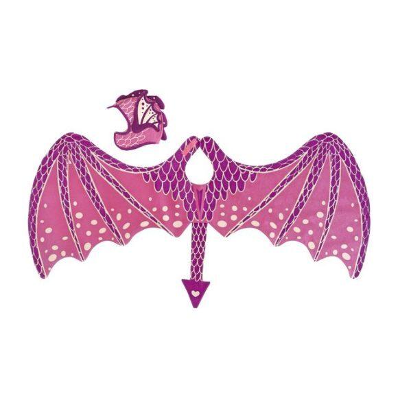 Dragon Wing & Hat Set, Pink