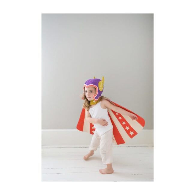 Reversible Hero Cape, Purple